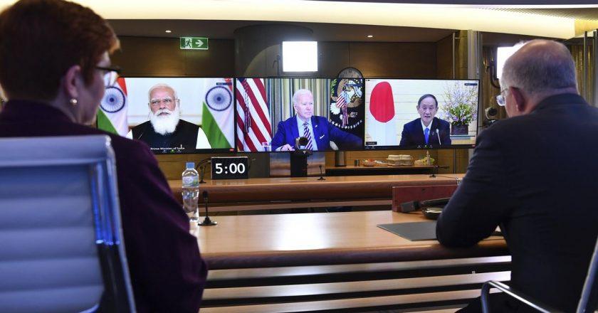 Biden 'Quad' powers pose challenge to China