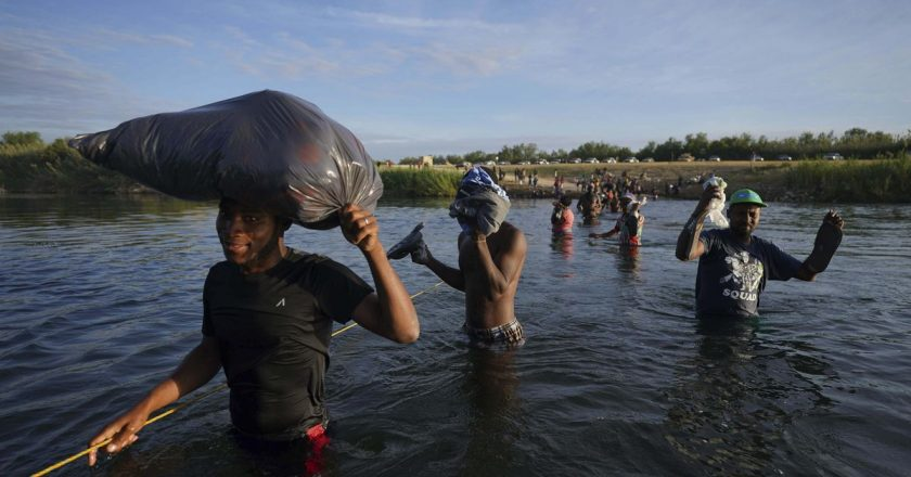 Biden supporters blast DHS over Haitian deportations