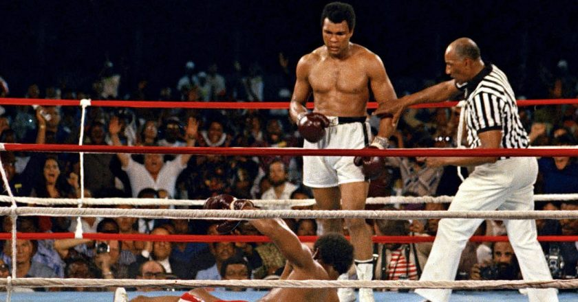 Muhammad Ali retreat prepared him for war, offered him peace