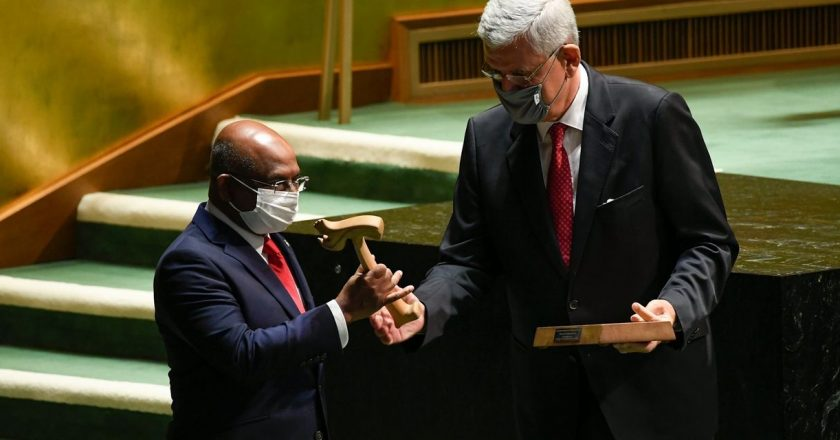 U.N. Faces Climate Change, Covid-19 and New Tensions